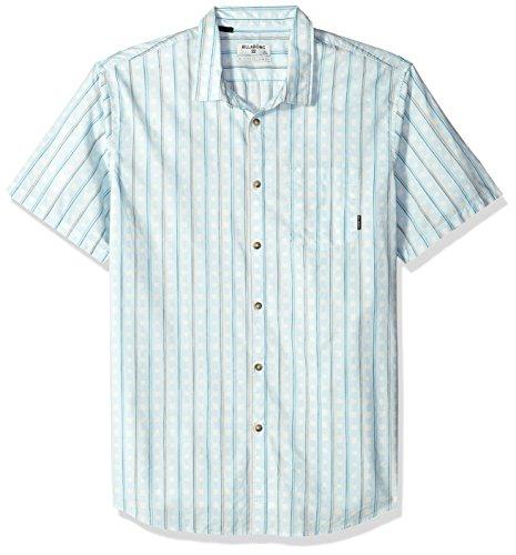 (Billabong Men's Sundays Mini Short Sleeve Shirt, Vapor XL)