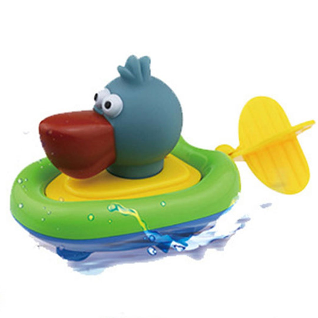baby boys girls bath toys swimming pelican pool toy for bath time ebay. Black Bedroom Furniture Sets. Home Design Ideas