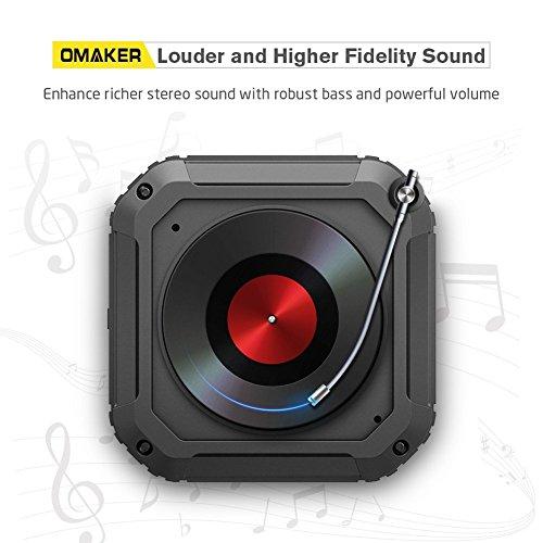 Omaker Nature Float Bluetooth Speaker Waterproof Outdoor Wireless Portable Speaker Tws 5w