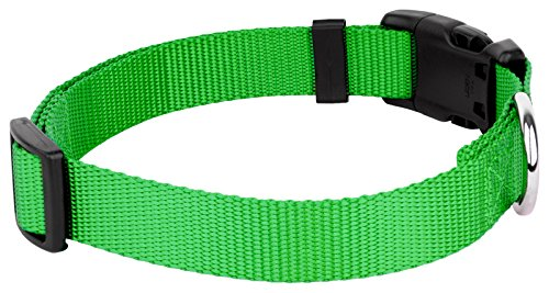 Country Brook Design - Vibrant 25 Color Selection - Deluxe Nylon Dog Collar
