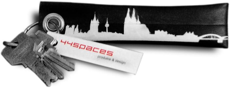 44spaces Schlüsselanhänger Köln Upycling Fahrradschlauch Geschenk Idee Männer Recycling Material Vegan Küche Haushalt