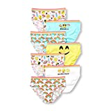 The Children's Place Big Girls' 7 Pack Fashion Underwear, Multi Clr, M (7/8)