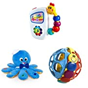 Baby Einstein Take Along Tunes Musical Toy Baby EinsteinOctoplush Plush Toy & Baby Einstein Bendy Ball