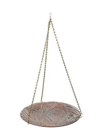 38.10 cm Durchmesser, 60.96 cm Kette Libelle Hängende Vogeltränke ...