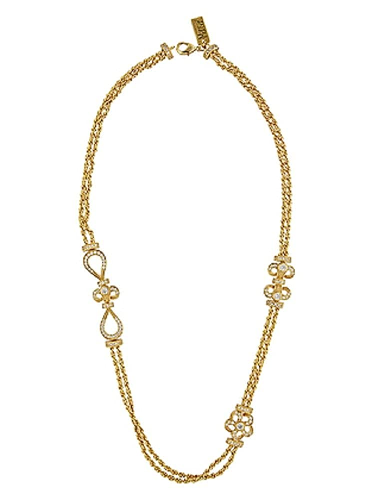 Youngevity Everlasting Gold Tone Necklace