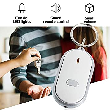 Whistle LED Light Torch Control Remoto de Sonido Lost Key ...