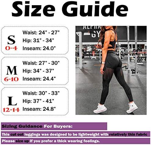 CFR Women's High Waist Workout Gym Vital Seamless Leggings Butt Lift Stretchy Yoga Pants