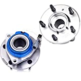 OCPTY NEW Wheel Hub Bearings Front Rear 5 Lugs w/ABS Compatible for Buick Cadillac Chevrolet Oldsmobile Pontiac 1997-2007 with OE 513121 (Pack of 2)