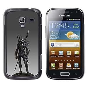 Estuche Cubierta Shell Smartphone estuche protector duro para el teléfono móvil Caso Samsung Galaxy Ace 2 I8160 Ace II X S7560M / CECELL Phone case / / Spear Fighter Pc Game Armor /