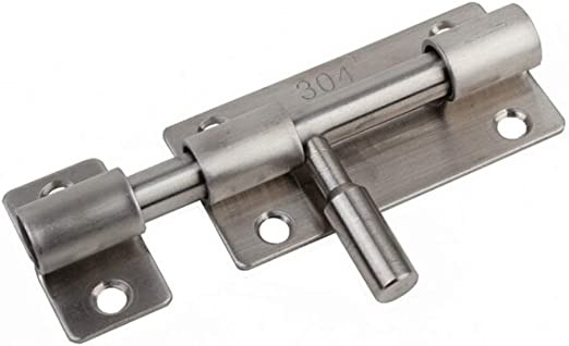 Amazon.com: GUAngqi Stainless Steel Sliding Bolt Lock Thick Small ...
