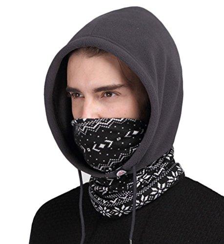 Winter Earflap Windproof Hat Neck Warmer Biking Hood Mask Ski Balaclava