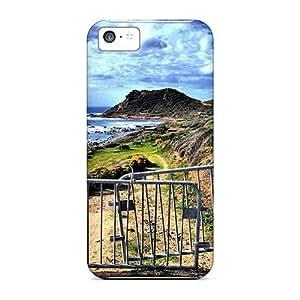 Excellent iPhone 5 5s Case Tpu Cover Back Skin Protector Coastal Beach Gate