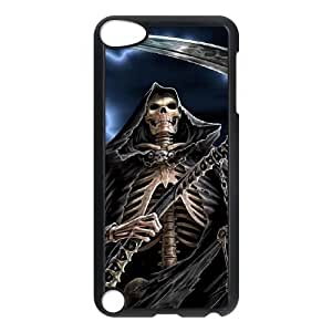 QSWHXN Customized Print Grim Reaper Pattern Hard Case for iPod Touch 5
