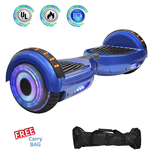 NHT 6.5' Hoverboard Electric Self Balancing Scooter Sidelights - UL2272...