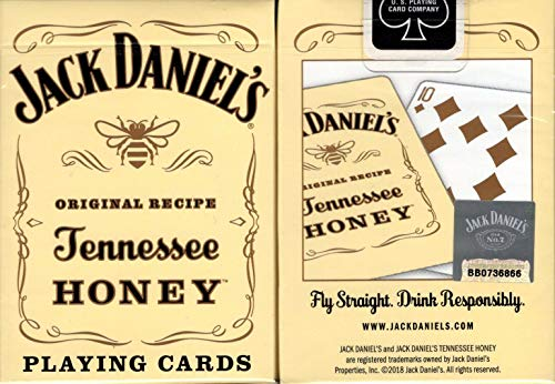 Bicycle Jack Daniels Tennessee Honey Playing Cards