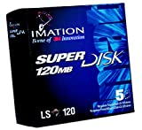 Imation SuperDisk 120MB Windows/DOS/IBM formatted (5-Pack)