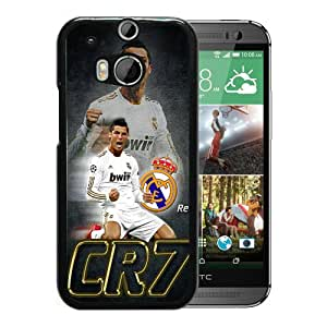 CR7 Black Personalized Recommended Custom HTC ONE M8 Phone Case