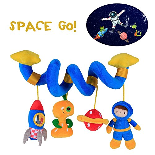 60OFF Labebe Car Seat Toy Hanging For Baby With Blue Astronaut Crib Double Stroller Girl Boy