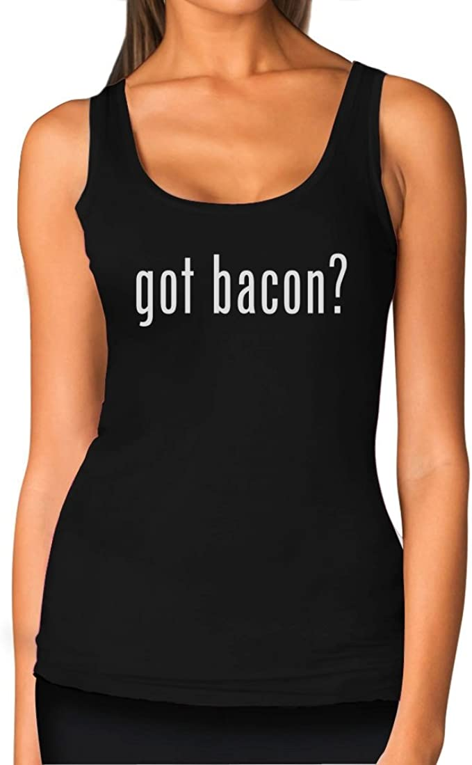 There Is No We In Bacon Funny Novelty Vest Singlet Top