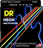 Best Bass Strings - DR Strings NMCB-45 DR NEON 4 Bass Guitar Review