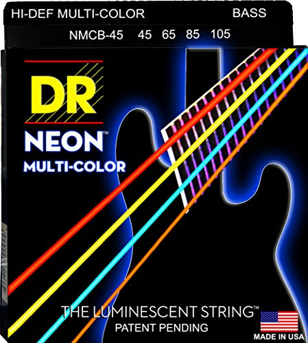 DR Strings NMCB-45 DR NEON 4 Bass Guitar String