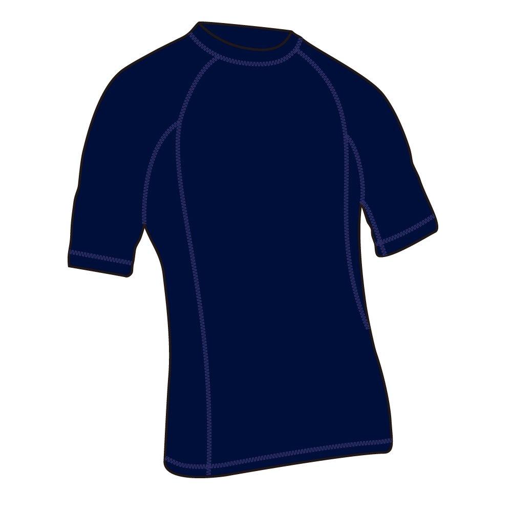 Adoretex Mens Short Sleeve Rashguard UPF 50 Swim Shirt