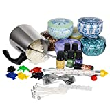 SOLIGT Candle Making Kit, Soy Wax, Fragrance Oil, Cotton Wicks, Candle Pigment, Candles Art and Craft Supplies