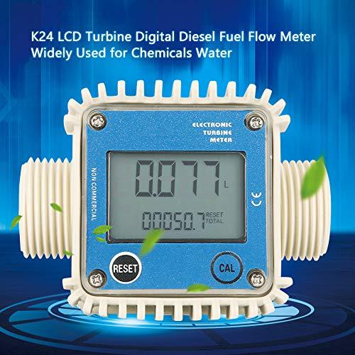 K24 Digital Turbine Digital Diesel Fuel Flow Meter For Chemical eau Urea un