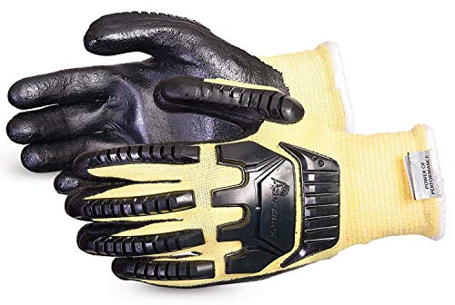SKFGFNVB/S Dexterity Impact-Resistant Blended Composite Filament Fiber/Kevlar Cut-Resistant String-Knit Glove, Size Small
