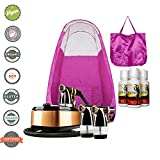 Cheap MaxiMist Allure Xena HVLP Spray Tanning System with Pop Up Tan Tent Pink
