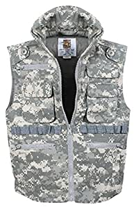 Rothco Kids Ranger Vest, Acu Digital Camo, X-Small