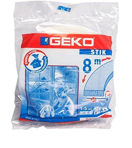 Tape Draught Excluders Geko in Sponge mm.15 M.8 [Geko] 0660073
