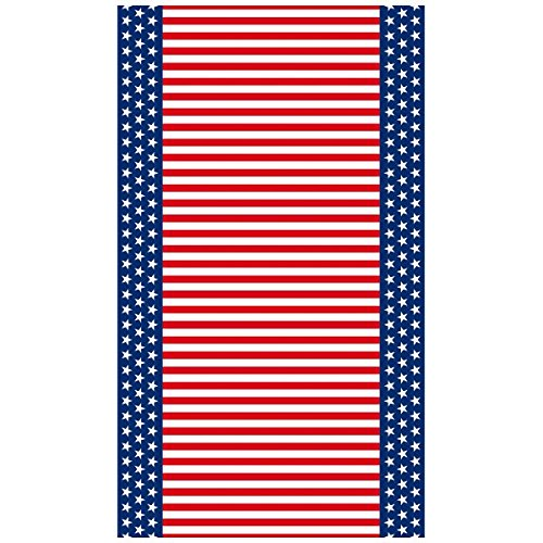 Stars & Stripes Party Table Cover, 52