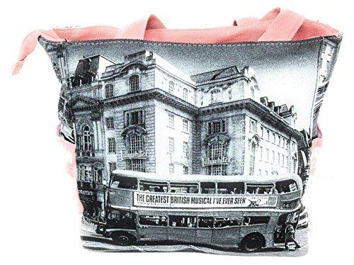 Robin Ruth, Borsa tote donna rosa Pink