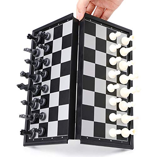 StyleZ Travel Magnetic Chess Set with Folding Chess Board Educational Toy Game for Kids and Adults