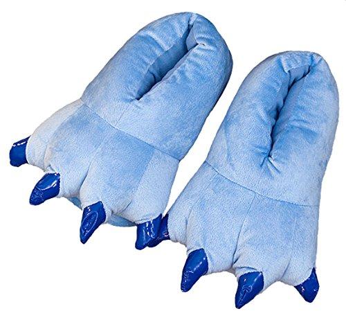 Calido Animal Niños Blue Suave Unisex Zapatilla Terciopelo Garra Espesar Adulto Zapato A0xIqd0