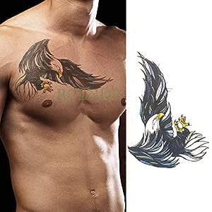 ljmljm 5 Piezas Impermeable Tatuaje Pegatina águila alas Tatto ...