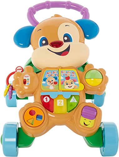 515PDhODnIL - Fisher-Price Laugh & Learn Smart Stages Learn with Puppy Walker