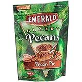 Emerald Glazed Pecans-Pecan Pie 5oz (Pack of 6)