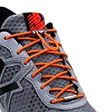 Neo-wows Upgrade Version No Tie Elastic Shoelaces, adjustable laces lock - One Size