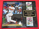 Giancarlo Stanton Marlins 2 Card Collector Plaque w/8x10 Photo