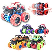 CocoRio Mini Off-Road Vehicle Inertia Car Monster Truck Children Dump Truck Stunt Car Educational Toy Car Model Car Combo Pack (1 Car Pack)