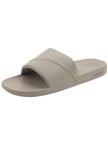 07183d8995bf Lacoste Men s Frasier 118 3 U Cam Slide Sandal - Grey Grey 8 D(M) US  Buy  Online at Low Prices in India - Amazon.in