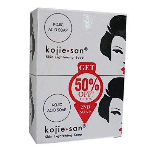 Kojie San Éclaircissement De La Peau Le Savon Pack D'Essai 65 Grammes