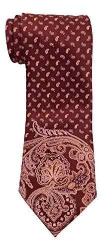 Brioni Satin Red Tapestry Paisley Tie ()