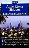 Ballade italienne par Rivers Siddons