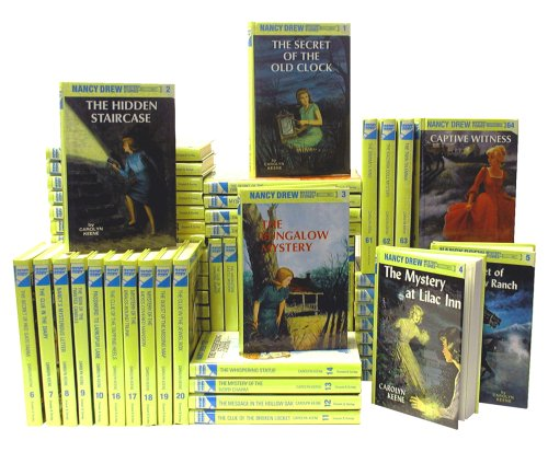 Price comparison product image Nancy Drew Complete Series Set, Books 1-64