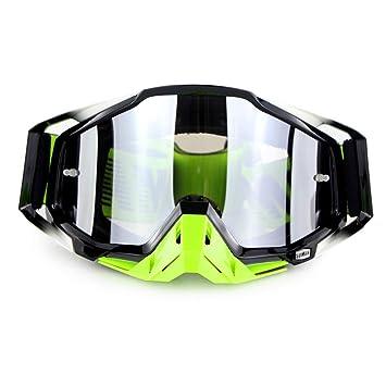 XBTECH Gafas De Sol para Motos De Esquí Gafas De Carreras ...