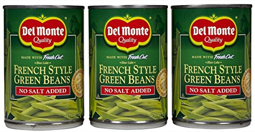 Del Monte No Salt Added Fresh Cut French Style Green Beans - 14.5 oz - 3 pk