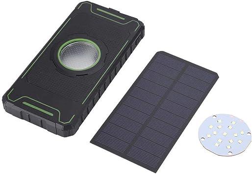 Banco de energía Solar portátil, Caja de batería Externa de ...